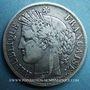 Monnaies 2e république (1848-1852). 5 francs Cérès 1849A. Variété très rare main et main !