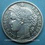 Monnaies 2e république (1848-1852). 5 francs Cérès 1849BB. Strasbourg