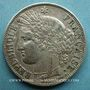 Monnaies 2e république (1848-1852). 5 francs Cérès 1850A