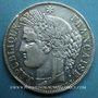 Monnaies 2e république (1848-1852). 5 francs Cérès 1850BB. Strasbourg