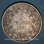 Monnaies 2e république (1848-1852). 5 francs Cérès 1851A