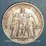 Monnaies 2e république (1848-1852). 5 francs Hercule 1848 A