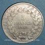 Monnaies 2e république (1848-1852). 5 francs Louis-Napoléon 1852 A, tête large