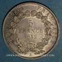 Monnaies 2e république (1848-1852). 5 francs Louis-Napoléon 1852 A