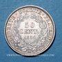 Monnaies 2e république (1848-1852). 50 centimes 1851 A