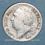 Monnaies 2e restauration. Louis XVIII (1815-1824). 1/2 franc 1820A