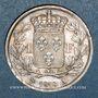 Monnaies 2e restauration. Louis XVIII (1815-1824). 1 franc 1818A