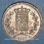 Monnaies 2e restauration. Louis XVIII (1815-1824). 2 francs 1822A