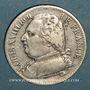 Monnaies 2e restauration. Louis XVIII (1815-1824). 5 francs 1814M. Toulouse