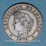Monnaies 3e république (1870-1940). 1 centime Cérès 1878 A