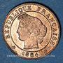 Monnaies 3e république (1870-1940). 1 centime Cérès 1884A