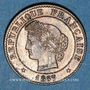 Monnaies 3e république (1870-1940). 1 centime Cérès 1887 A