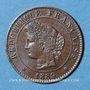 Monnaies 3e république (1870-1940). 1 centime Cérès 1889 A