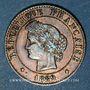 Monnaies 3e république (1870-1940). 1 centime Cérès, 1889A