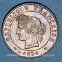 Monnaies 3e république (1870-1940). 1 centime Cérès 1894A