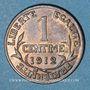 Monnaies 3e république (1870-1940). 1 centime Dupuis, 1912
