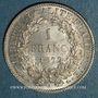 Monnaies 3e république (1870-1940). 1 franc Cérès 1872 A. Petit A