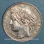 Monnaies 3e république (1870-1940). 1 franc Cérès 1887 A