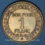 Monnaies 3e république (1870-1940). 1 franc Chambre de Commerce 1923