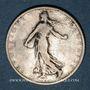 Monnaies 3e république (1870-1940). 1 franc Semeuse 1903