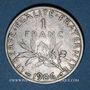 Monnaies 3e république (1870-1940). 1 franc Semeuse 1906