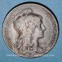 Monnaies 3e république (1870-1940). 10 centimes Dupuis, 1907