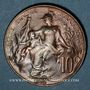 Monnaies 3e république (1870-1940). 10 centimes Dupuis, 1912