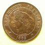 Monnaies 3e république (1870-1940). 2 centimes Cérès, 1883A