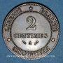 Monnaies 3e république (1870-1940). 2 centimes Cérès 1884 A