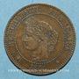 Monnaies 3e république (1870-1940). 2 centimes Cérès 1886 A