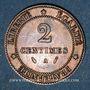 Monnaies 3e république (1870-1940). 2 centimes Cérès, 1886A