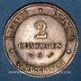 Monnaies 3e république (1870-1940). 2 centimes Cérès, 1888A