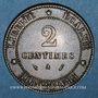 Monnaies 3e république (1870-1940). 2 centimes Cérès, 1889A