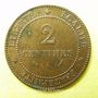 Monnaies 3e république (1870-1940). 2 centimes Cérès, 1892A