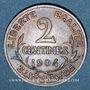Monnaies 3e république (1870-1940). 2 centimes Dupuis, 1904