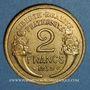 Monnaies 3e république (1870-1940). 2 francs Morlon 1939