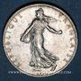 Monnaies 3e république (1870-1940). 2 francs Semeuse 1910