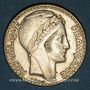 Monnaies 3e république (1870-1940). 20 francs Turin 1937