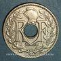 Monnaies 3e république (1870-1940). 25 centimes Lindauer 1928