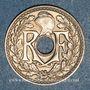 Monnaies 3e république (1870-1940). 25 centimes Lindauer 1930