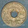 Monnaies 3e république (1870-1940). 25 centimes Lindauer 1936