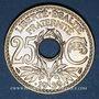 Monnaies 3e république (1870-1940). 25 centimes Lindauer 1939