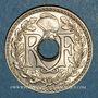 Monnaies 3e république (1870-1940). 25 centimes Lindauer, type souligné, 1914