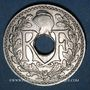 Monnaies 3e république (1870-1940). 25 centimes Lindauer, type souligné, 1916