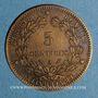 Monnaies 3e république (1870-1940). 5 centimes Cérès 1890 A