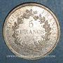 Monnaies 3e république (1870-1940). 5 francs Hercule 1873 A