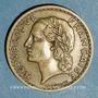 Monnaies 3e république (1870-1940). 5 francs Lavrillier bronze d'aluminium 1939