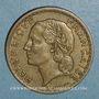 Monnaies 3e république (1870-1940). 5 francs Lavrillier bronze d'aluminium 1940