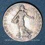 Monnaies 3e république (1870-1940). 50 centimes Semeuse 1905