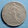 Monnaies 3e république (1870-1940). 50 centimes Semeuse 1907
